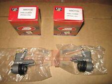 "Pair of Brand New Rear Wheel Cylinders .75"" Flat End Triumph TR3 TR3A TR3B TR4"