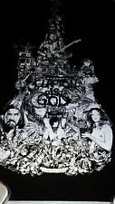 """""""Clapton Is God"""" Screenprint By Kako From Hero Complex Gallery, Regular Edition"""