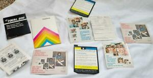 Vintage 1970s Polaroid OneStep Land Camera Manual and Related Papers