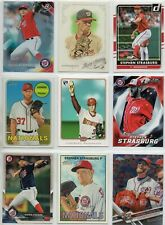9 card Stephen Strasburg lot with RC,and more,all different