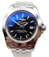 Breitling Galactic 32 Sleek Black Ladies Watch W7133012/BF62