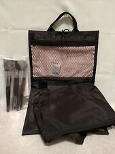 Mary Kay Brush Collection 5 Quality Brushes w/ Cosmetic Organizer Bag Has Handle
