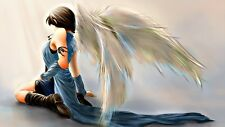 """STUNNING ANGEL/WINGS CANVAS PICTURE WALL ART LARGE 20x30"""" INCHES"""