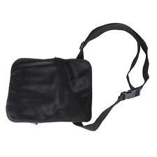 1pc Black Pro Cosmetic Makeup Brush Apron Bag Artist Belt Strap Holder New