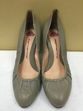 Fornarina women taupe leather Heels Pumps Shoes Sz EUR 35 pre-owned