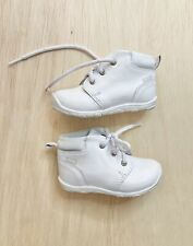 Coloso Baby Boy Leather Boots Toddler Size 5 White Dress Shoes