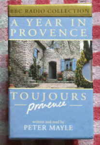 Peter Mayle - A Year In Provence/Toujours Provence - 4 x cassettes - Free UK P&P