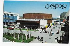 Expo 67 Montreal Telephone Association of Canada Pavilion Vintage Postcard