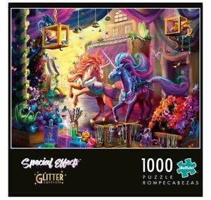 Buffalo Games - Twillight Marketplace - Glitter Edition - 1000 Piece Jigsaw P...