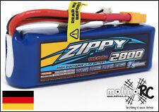 1x ZIPPY Flightmax 2800mAh 30C NEU 3S POWER Lipo Akku 11,1V Blade 350 QX