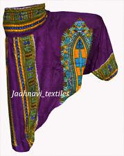 Indian 100%Cotton Yoga Men Women Ethnic African Laden Hippie Trouser Harem Pant