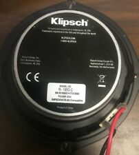 USED Klipsch R-1650-C OEM Replacement Speaker with White Grill FREE SHIPPING