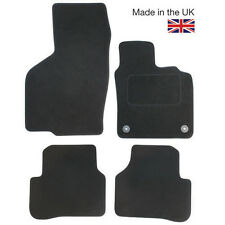 Hyundai i10 2007-2009 Fully Tailored 4 Piece Car Mat Set with 2 Clips
