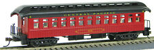 HO 1880-1920's Old Time Pass Coach, Central Pacific (01) #120 (1-000223)