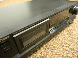 Technics Stereo Cassette Tape Deck RS-BR465 TESTED with Dolby HX Pro B & C