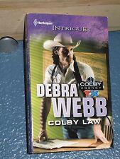 Colby Law  by Debra Webb *FREE SHIPPING *  9780373696147