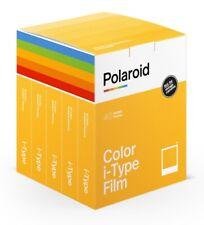 Polaroid i-Type Film Color Sofortbildfilm 5er Pack (40 Aufnahmen)