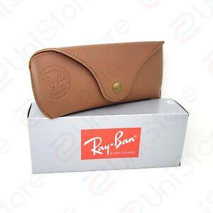 Original Ray-Ban Sunglasses Special Edition Case Soft Leather w/ Cloth & Box