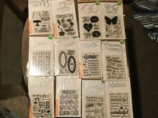 Hero Arts: Stamp & Cut  12 Sets to pick from