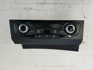 GENUINE VW AUDI A4 B8 S5 A5 CLIMATE TEMPERATURE HEATER CONTROL PANEL 8K2820043AH