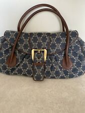 Borsa Celine macadam Denim In Pelle Vinatge bag genuine