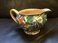 Meir Works Longton Floral Potter Jug Creamer