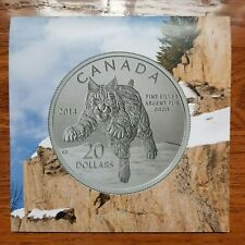 Canada - 20 Dollars - $20 for $20 - Bobcat (2014) - Card & COA Only