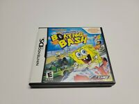 SpongeBob's Boating Bash (Nintendo DS, 2010) CIB Complete TESTED Fast Shipping