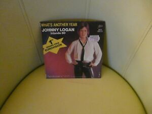 VINYLE 45 T JOHNNY LOGAN IRLANDE 80