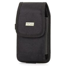 RUGGED CANVAS CASE HOLSTER WITH METAL BELT CLIP COVER B2F for SMARTPHONES
