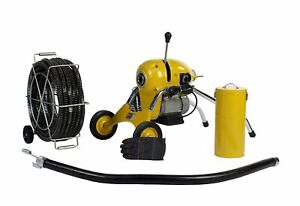Steel Dragon Tools® K1500B Sewer Line Drain Cleaning Machine fits RIDGID® Cable