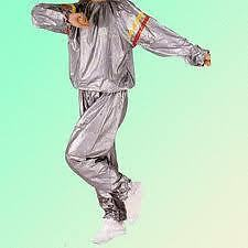 Unisex Sauna Suit for Men & Women Exercise As Seen on TV slimming weight loss
