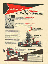 Vintage 1960 Percival Hellcat and Wildcat Go-Kart Ad Rodger Ward Test Driver