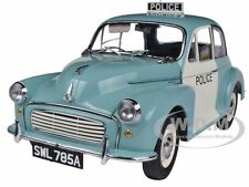 1963 MORRIS MINOR 1000 UK POLICE PANDA CAR 1/12 DIECAST MODEL BY SUNSTAR 4785