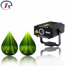 Mini RG laser Projector Light 4 patterns DJ dance Disco bar Party Stage lighting