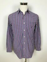 Nautica Mens Casual Long Sleeve Button Up Dress Shirt Size S