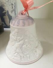 Lladro Christmas Bell 1997 - Mary, Jesus, 3 Wise men w/ Box & Ribbon