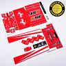 CUSTOM sticker for LEGO 8185 Ferrari Truck F1