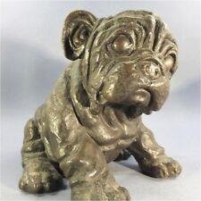 ' STATUE CHIEN EN BRONZE @ SHIPPING WORLWIDE - Animal Sculpture Décoration