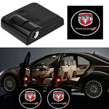2X Wireless Car Door Led Welcome Projector Logo Ghost Shadow Light DODGE ram RED