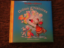 NEW TOUPIE et and BINOU kids BOOK story Droles D'HIstoires FRENCH 4 stories tv