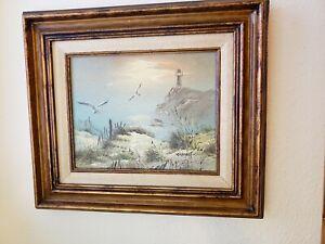 StunningDanny Garcia Signed Ocean landscape painting