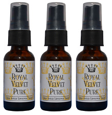 Royal Velvet Pure Deer Antler Neurotrophin Liposomal Spray w/ IGF-1 (3) 1 oz. ea