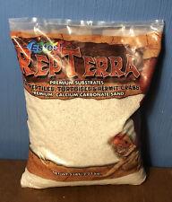 New listing Estes RepTerra Premium White Calcium Carbonate Terrarium Reptile Sand- 5 Lb Bag