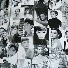 Lots 30 Pcs BULK Audrey Hepburn Classic Black & White Postcard Post Cards