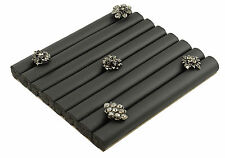 Black Ring Roll Display Pad for 30 - 40 Rings BD222-84BK