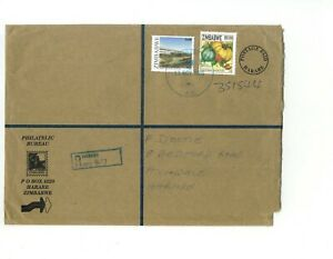 Zimbabwe - 2006 (Inflationist Period) - 56000$ Franking Registered Cover