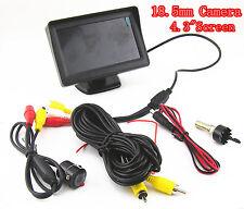 Mini CCD 18.5mm Car SUV Off-Road Reverse Camera Kit 4.3inch LCD Digital Display