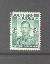 Southern Rhodesia 1937, 8d green, SG 45, good used.