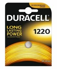 DURACELL CR1220 BATTERIA A LITIO 3V DL1220 / BR1200  scad 2026